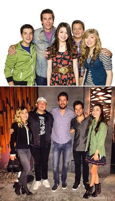 When the cast of a beloved movie or TV series reunites years after the credits stop rolling, time stands still for a moment, and fans can't help but get a little emotional. Disney Channel, Sam E Cat, Icarly And Victorious, Nathan Kress, Beloved Movie, Nickelodeon Shows, Miranda Cosgrove, Jennette Mccurdy, Movie Facts
