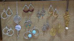 ALCHIMIA alchimia5874@gmail.com #alluminio #pietrenaturali #spirale #vetro #oro #argento