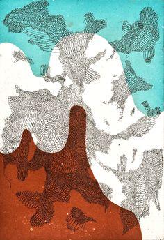 henry vibskov, copper engraved print