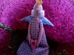 Eu costuro , você costura: PAP de Princesa Anjo Tilda