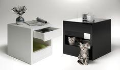 Multi-function Modern Cat Design: The Bloq from Binq Design