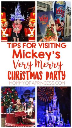 Tips for Mickey's Very Merry Christmas Party #VeryMerry My title