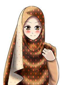 Meet Nurul Maya by Hitomisuko Girl Cartoon, Cartoon Art, Anime Muslim, Muslim Hijab, Cute Diary, Muslim Girls, Muslim Women, Cartoon Sketches, Cute Doodles