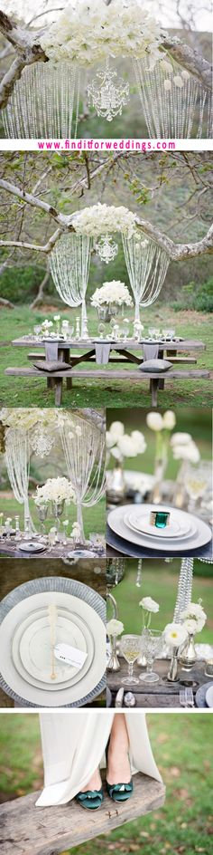 This Elegant Wedding Setting Really Suits A Vintage Don T You Think