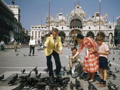 """Mark's Square in Venice the """"finest drawing room in Europe."""" (Did it have as many pigeons then? National Geographic Society, National Geographic Photos, Europe Photos, Travel Photos, Our Man In Havana, Still Photography, Vintage Photography, Vogue, Voyage Europe"""