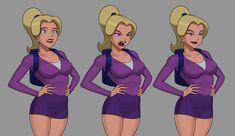 Dc Comics Girls, Dc Comics Superheroes, Dc Comics Characters, Dc Comics Art, Female Characters, Comic Books Art, Comic Art, Dc Animated Series, Adventure Time Girls