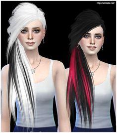 Simista: Skysims Hair 253 Retexture • Sims 4 Downloads