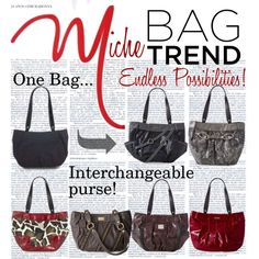 """""""Miche - My Favorite Bag Trend!"""" by miche-kat on Polyvore carryitinstyle.miche.com"""