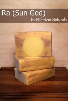 Nefertem Naturals - Ra (Sun God) Bar Soap, $6.50 (http://www.nefertemnaturals.com/products/ra-sun-god-bar-soap.html/)