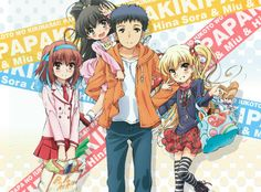 papa no iukoto wo kikinasai. Recent Anime, Slice Of Life Anime, Anime Reviews, All Anime, Best Memories, You Are The Father, Little Sisters, Friends Forever, Vocaloid