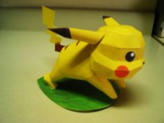 Nintendo Pokemon Papercraft - Pikachu by paperkraft, via Flickr