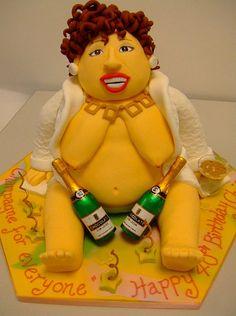 Bubbles DeVere cake LMAO