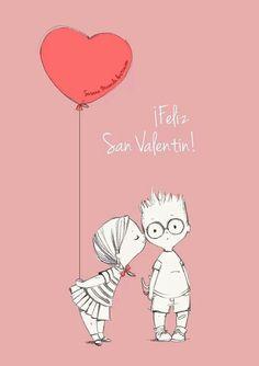 Feliz San Valentin by Susana Miranda