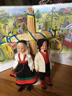 Swedish Dancer Couple 1950s by JustClickThreeTimes on Etsy
