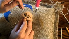 How to Create Needle Felted Faces: Part 2 by Sarafina Fiber Art