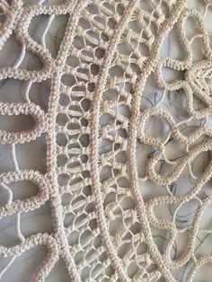 Crochet Needles, Crochet Stitches, Crochet Home, Irish Crochet, Bruges Lace, Romanian Lace, Lace Art, Crochet Basket Pattern, Point Lace