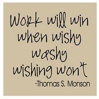 Work - Thomas S. Monson