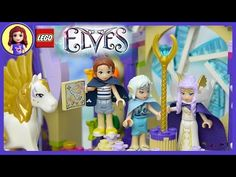 Lego Elves Skyra's Mysterious Sky Castle Unboxing Building Review - Kids Toys - YouTube