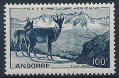 Animals with Horns (or Antlers) and Hooves, horned, hoofs - Stamp Community Forum - Page 5 Andorra, World Wild Life, Animals With Horns, Stamp Auctions, First Day Covers, Picture Postcards, Vintage Stamps, Mail Art, Stamp Collecting