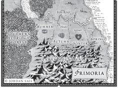 Kingdoms of Primoria in 'Snow Like Ashes' by Sara Raasch (Balzer + Bray)