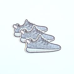 Yeezy Boost 350 Stickers