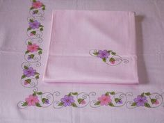 Fabric Painting Diys Table Runners Tablecloths Stitching Mesas On Paint Designs Bricolage