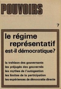Pouvoirs #7 : Le régime représentatif est-il démocratique?