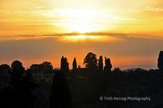 Sunset Tuscany | Trish Herzog Photography
