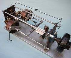 Simple Home Made Steam Engine