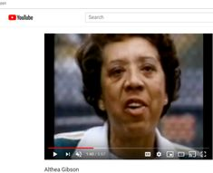 Althea Gibson, Youtube Search, Change The World, The Voice, Learning, Fictional Characters, Studying, Teaching, Fantasy Characters