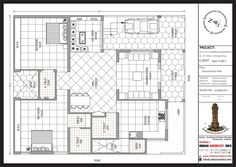 Duplex House Plans, My House Plans, Small House Design, Modern House Design, Modern Houses, North Facing House, Modern Architectural Styles, Ram Wallpaper, How To Dress A Bed