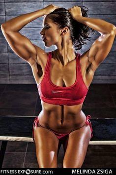 Melinda Zsiga - Female Fitness Model and Boxer