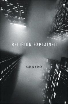 Book info:  Religion Explained  author: Pascal Boyer  Publisher: Basic Books  Publication date: November 30, 1999  Genre: Non-Fiction  Design info:  designer: Rick Pracher  photographer: Ernst Hass  photographer: Getty Images  Typeface: Alternate Gothic