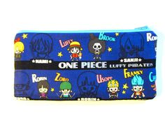 Pencil/Cosmetics Case  One Piece Anime Luffy Nami by SewTime, $12.55