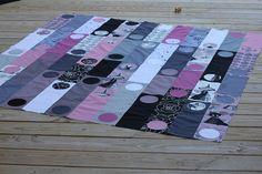 17 oct 11 006 by Make it Modern, via Flickr  Ghastlies quilt!