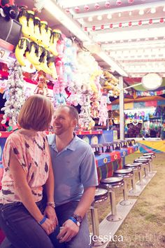 County fair couples session