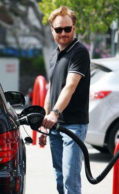 Conan O'Brien: #Celebrities Pumping Gas
