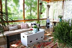9 Outdoor Living Spaces You'll Never Wanna Leave
