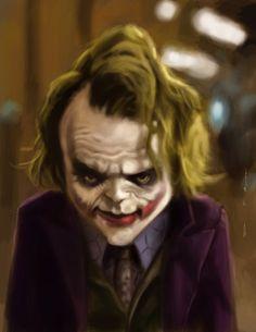 Joker by *DevonneAmos on deviantART