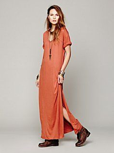 Talkin Too Much Maxi -- no boots -- sub bare feet or barely there flats