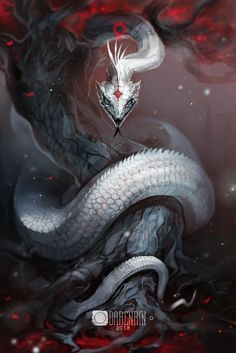 personally am not a serpent fan. But what about you guy ? Any fans here who lo -I personally am not a serpent fan. But what about you guy ? Any fans here who lo - Deadly Creatures, Mythical Creatures Art, Mystical Animals, Magical Creatures, Cute Fantasy Creatures, Dark Creatures, Dark Fantasy Art, Fantasy Artwork, Fantasy Love
