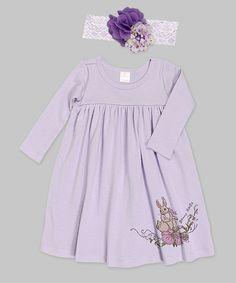 Another great find on #zulily! Violet 'Bunny Hugs' Dress & Headband - Infant by Truffles Kids #zulilyfinds