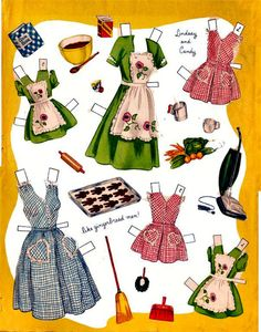 Betty Hutton  Her Girls* 1500 free paper dolls at Arielle Gabriel's International Paper Doll Society for other paper doll Pinterest pals...*