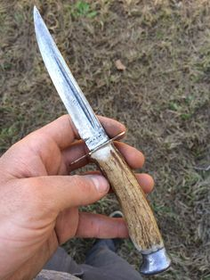 How to Make a Knife Handle Out of Deer Antler – Old Man Stino