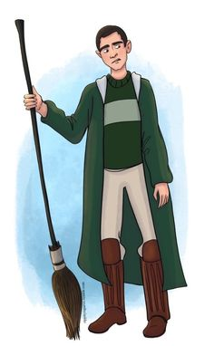 Marcus Flint Slytherin, Harry Potter, Day, Fictional Characters, Fantasy Characters, Slytherin House