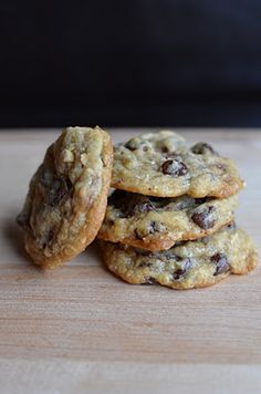 Hazelnut-Toffee Chocolate Chip Cookies  Adapted from Giada De Laurentiis