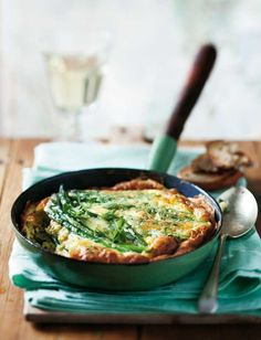 Asparagus and Chive Frittata