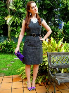 With right Texture and Pattern you can carry Fitted dress as well