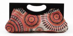 Scarleton Wood Framed Embroidered Clutch H3001 $28.99 (save $61.00)  #Scarleton