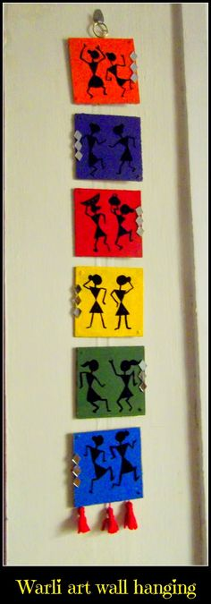 craftmelange: Warli art wall hanging